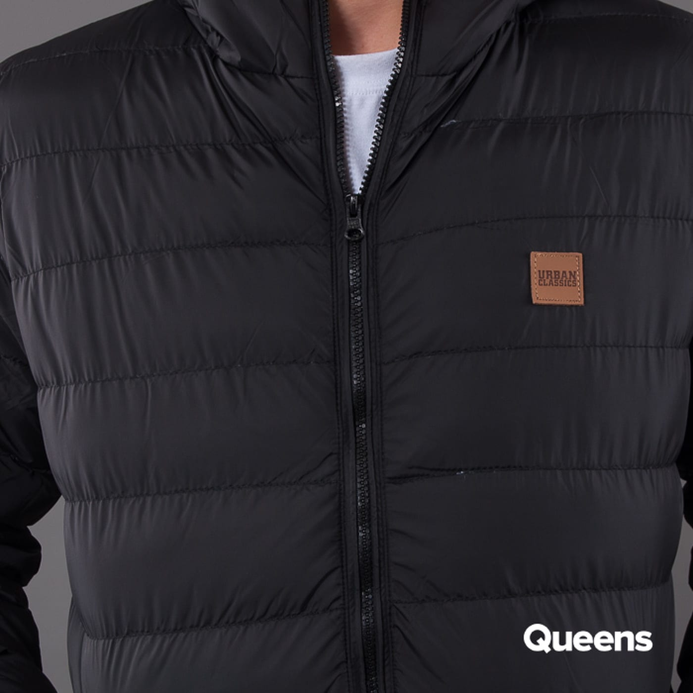 Urban Classics Basic Bubble Jacket schwarz