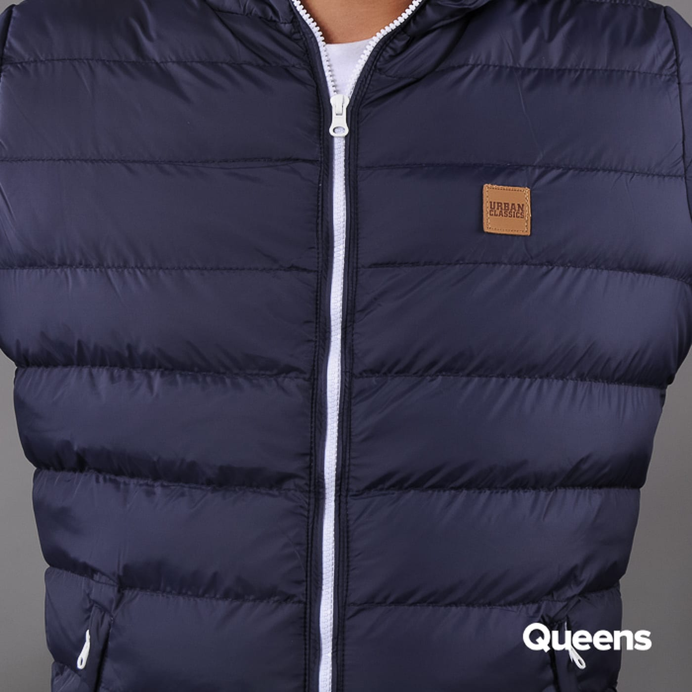 Urban Classics Basic Bubble Jacket navy