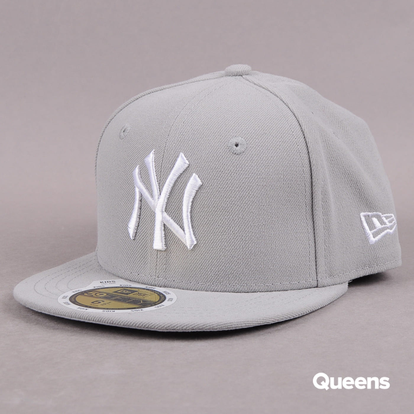 New Era Kids MLB League Basic NY C/O šedá