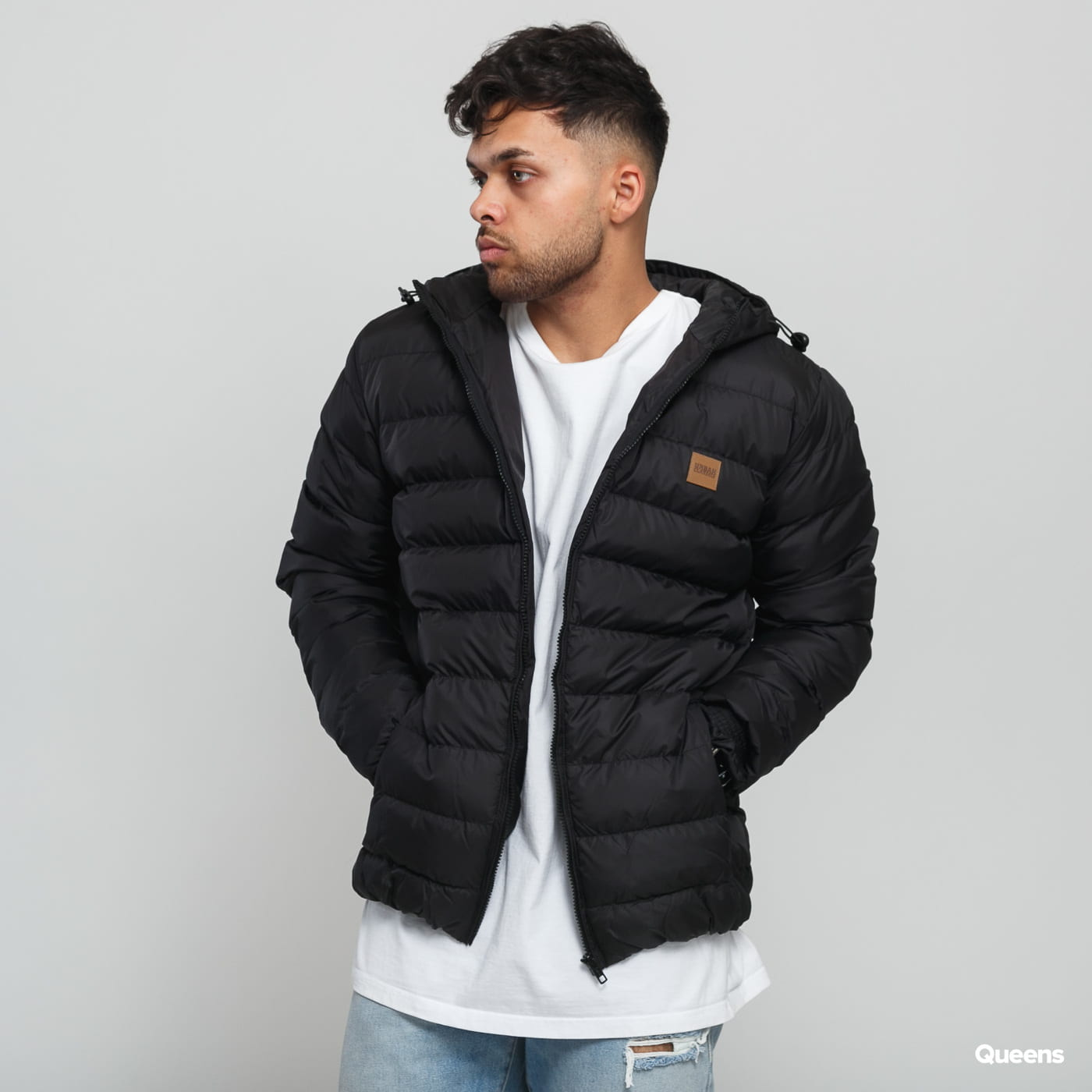 Urban Classics Basic Bubble Jacket čierna