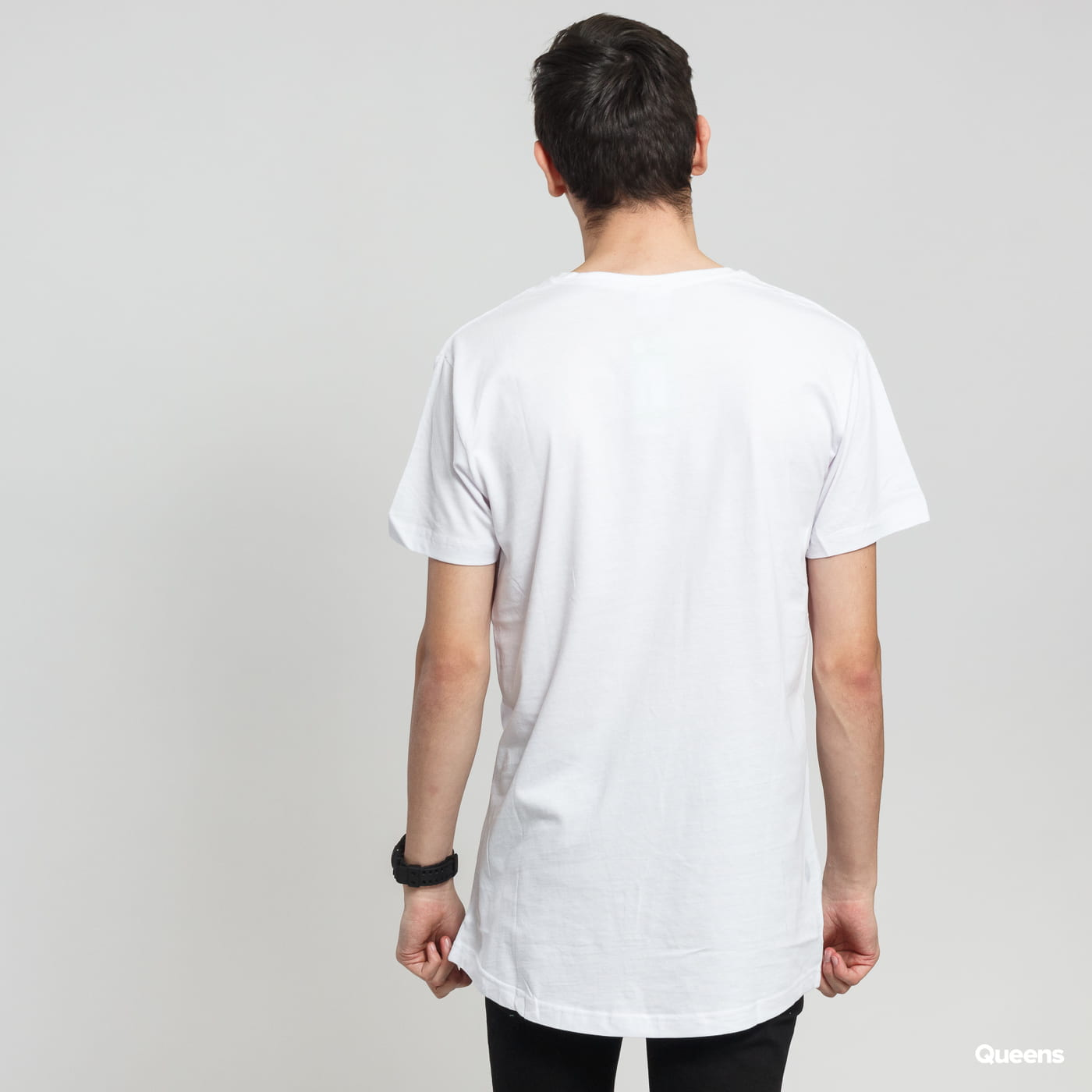 Urban Classics Shaped Long Tee biele