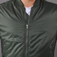 Urban Classics Basic Bomber Jacket olivová