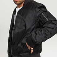 Urban Classics Basic Bomber Jacket čierna