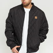 Urban Classics Diamond Quilt Nylon Jacket čierna