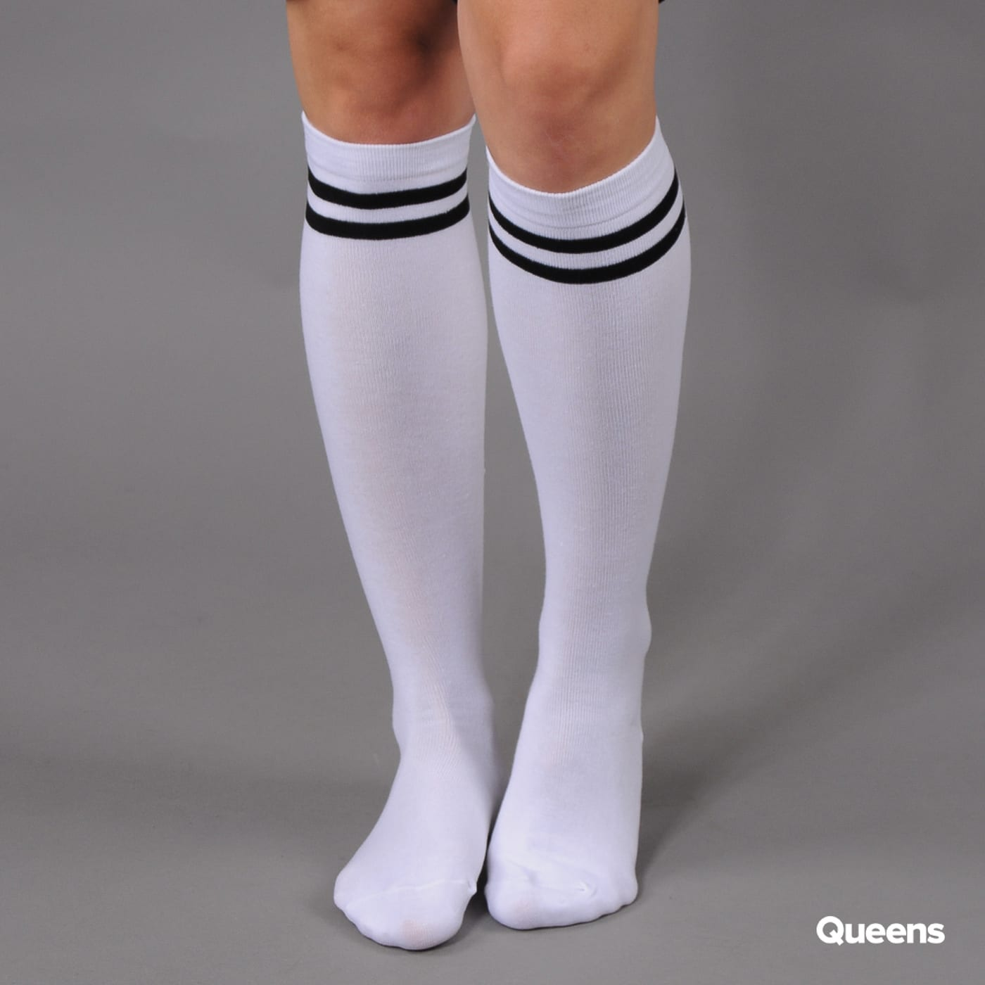 Urban Classics Ladies College Socks schwarz / weiß