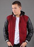 Urban Classics Hooded Oldschool College Jacket