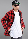 Urban Classics Padded Checked Flanell Light Jacket