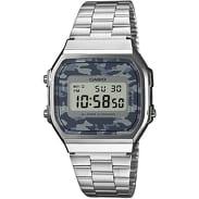 Casio A168C-1 silver