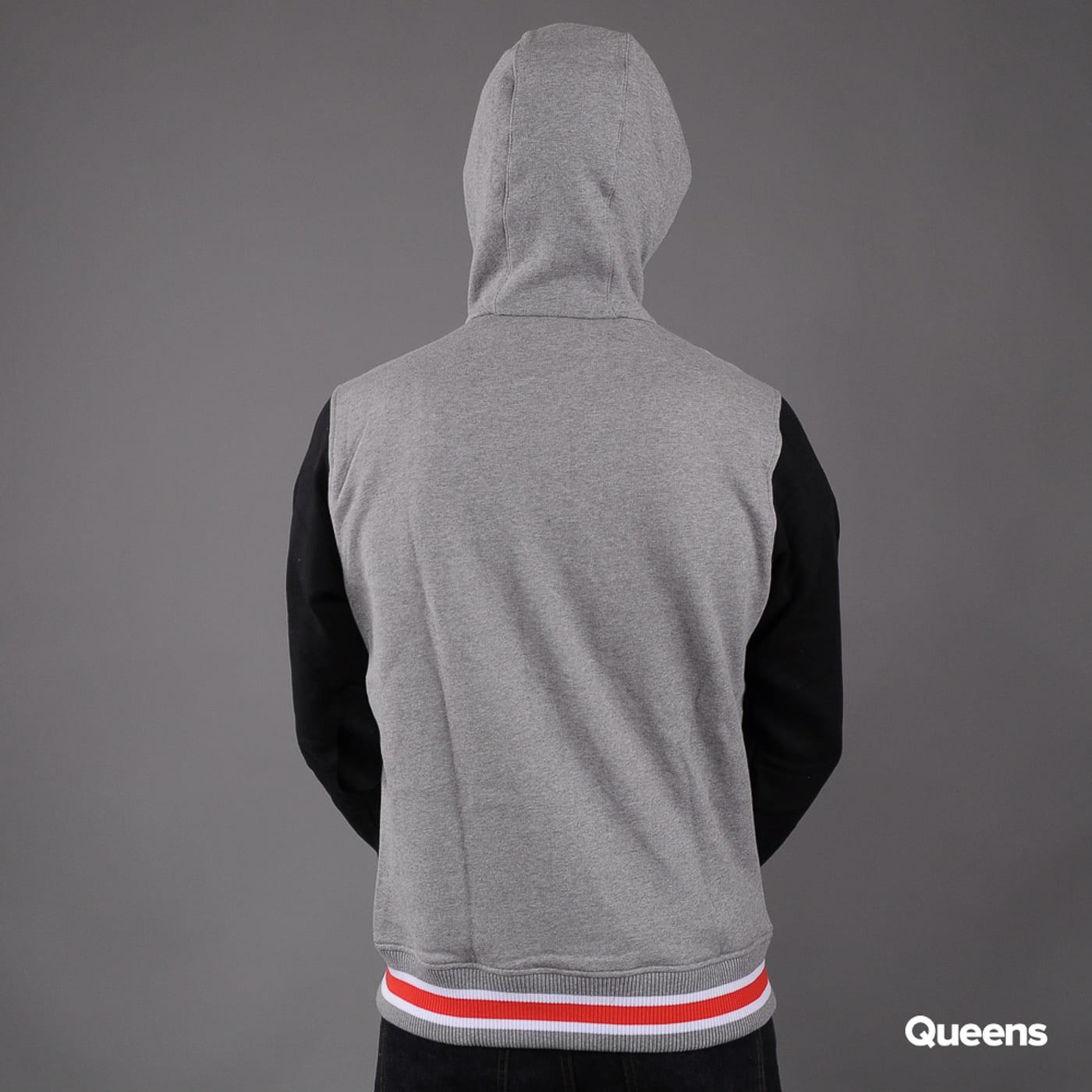 New Era FF Varsity Hoody melange gray / black