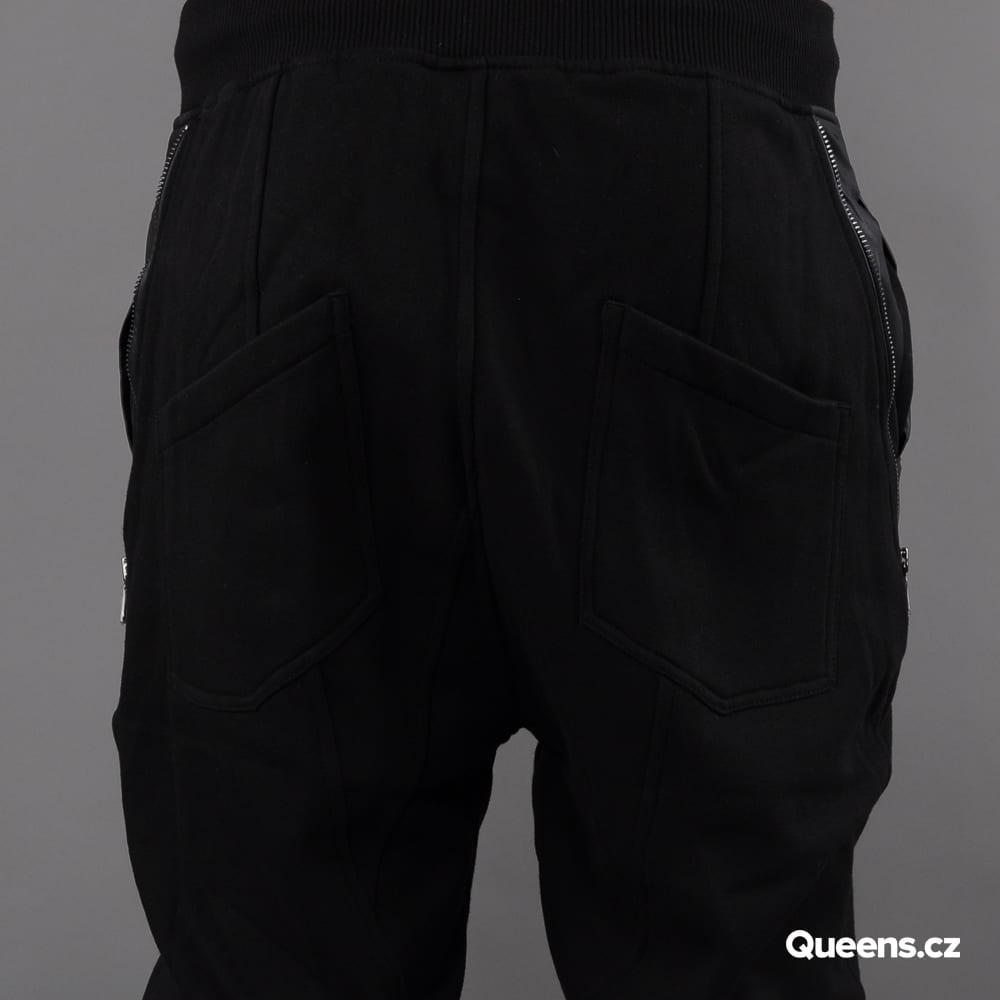 Urban Classics Side Zip Leather Pocket Sweatpant black