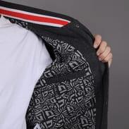 New Era FF Varsity Jacket melange tmavě šedá