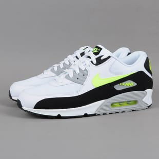 new product 2a17a 21d17 Nike Air Max 90 Essential white   volt - black - wolf grey