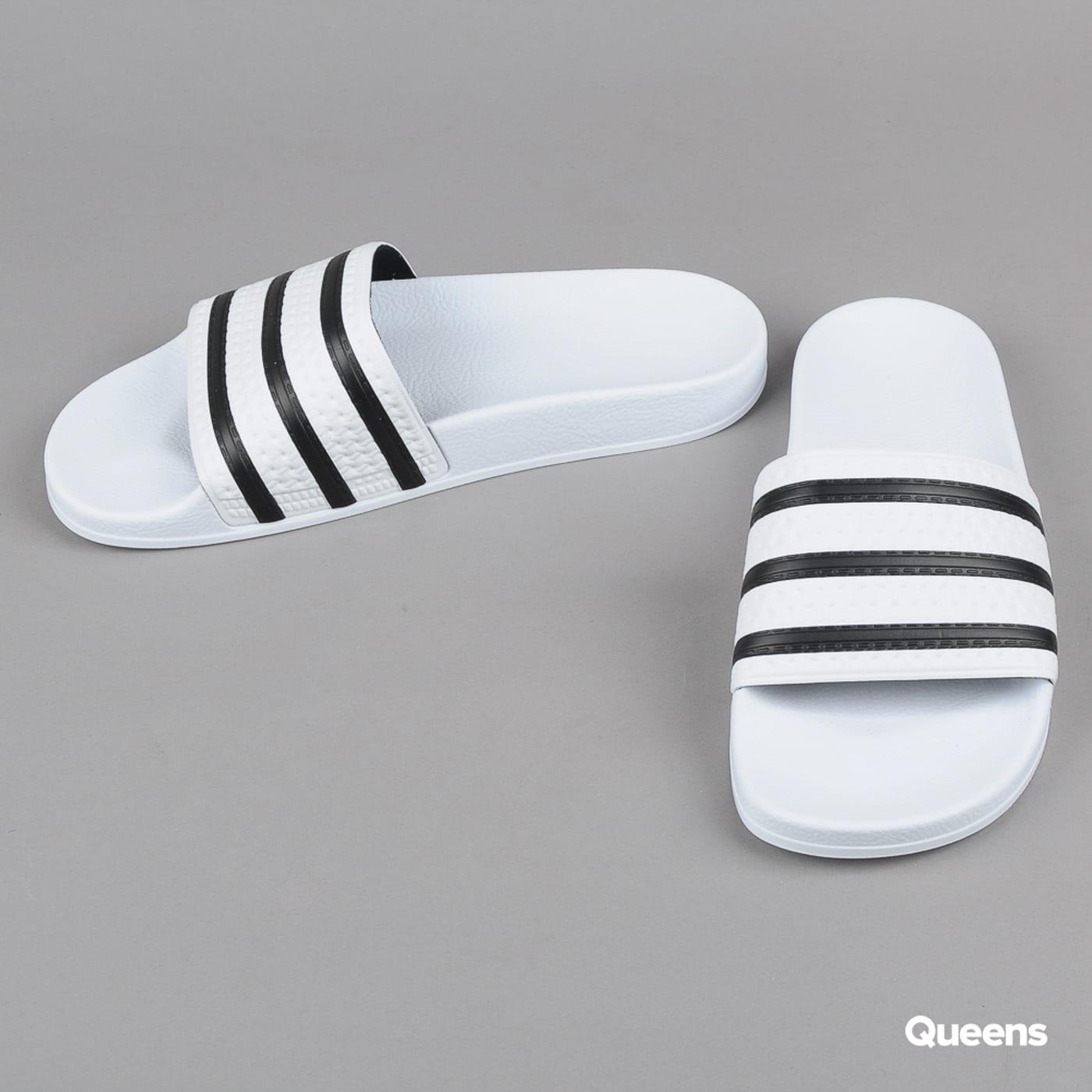 adidas Originals Adilette white / cblack / white