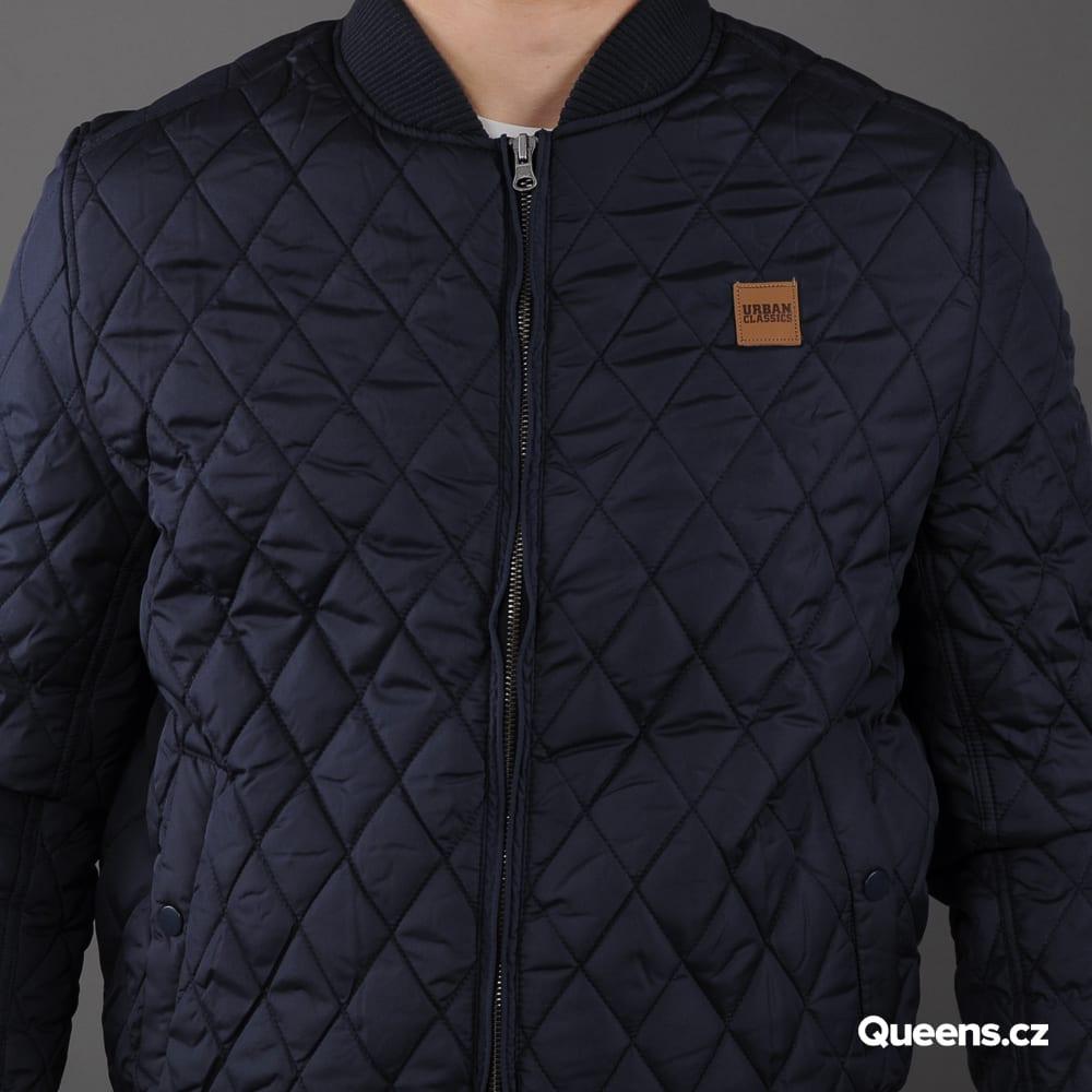 Urban Classics Diamond Quilt Nylon Jacket navy
