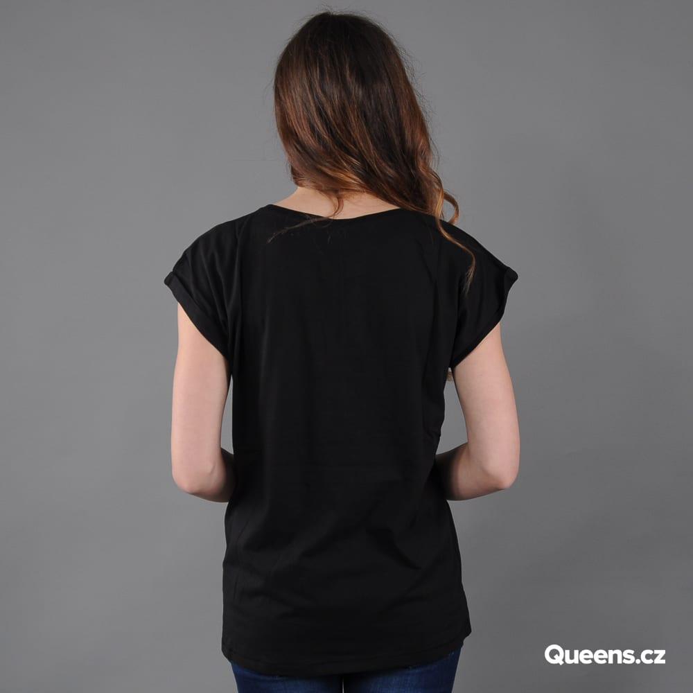 Urban Classics Ladies Extended Shoulder Tee schwarz