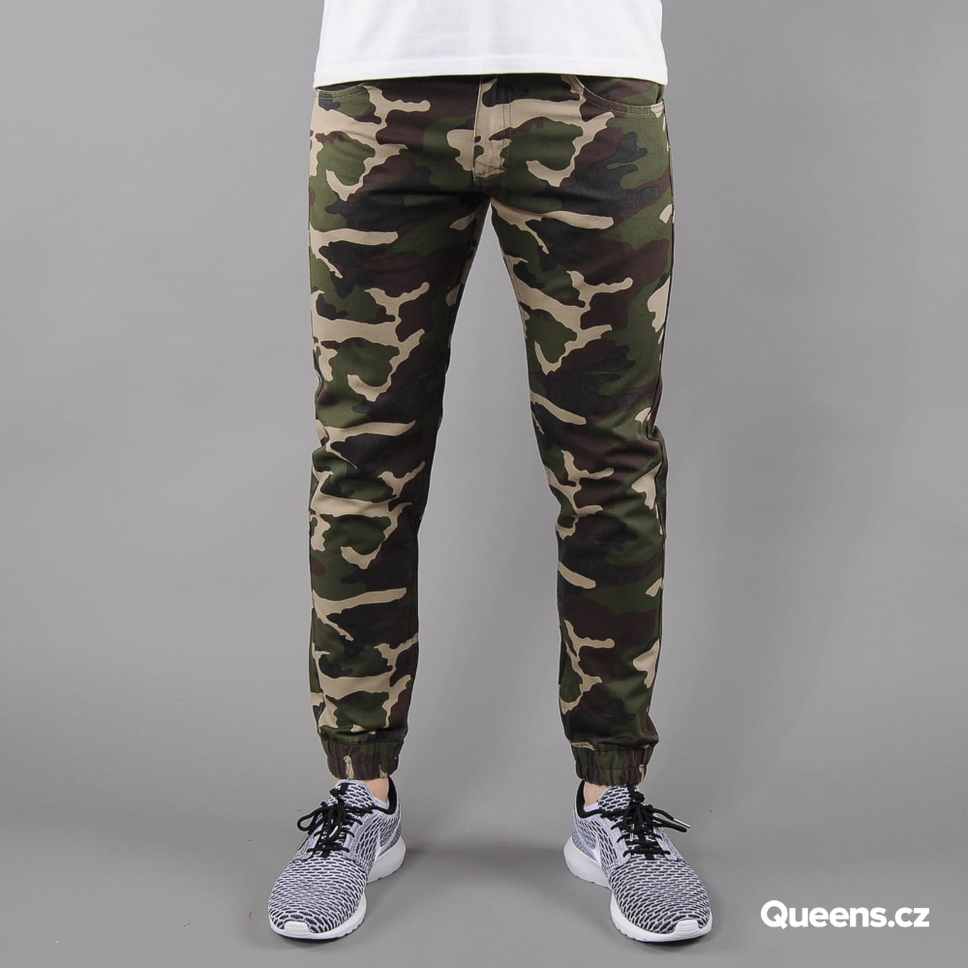 Mass DNM Base Jogger Pants camo green