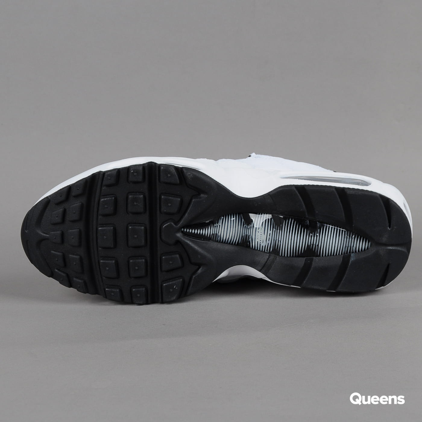 Nike Air Max 95 white / black - black
