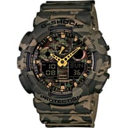 Casio G-Shock GA 100CM-5A brown camo