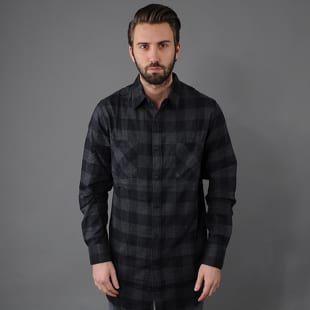 Urban Classics Long Checked Flanell Shirt