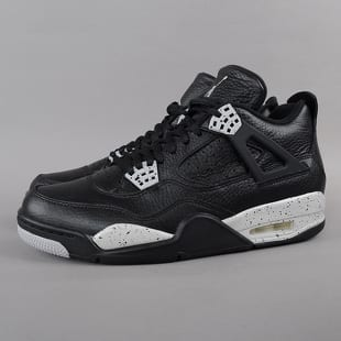 Air Jordan 4 Retro LS - Oreo black   tech grey - black c0b61b9ef2