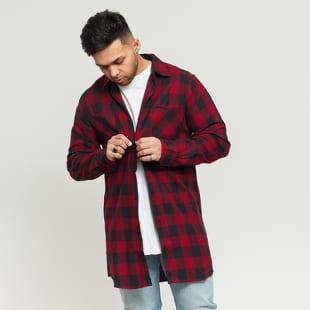 Urban Classics Long Checked Flanell Shirt