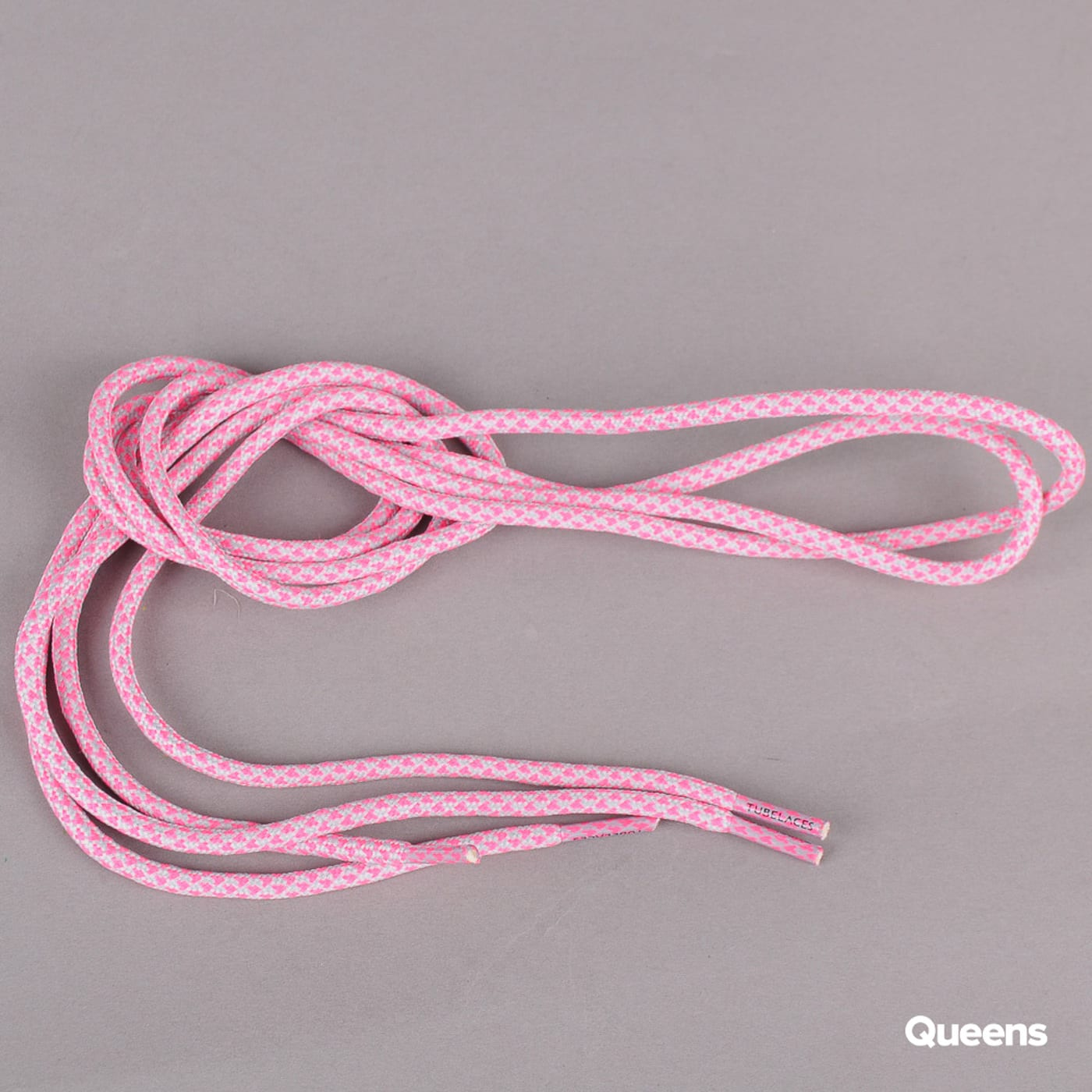 MD Tube Laces Rope Multi gray / neon pink