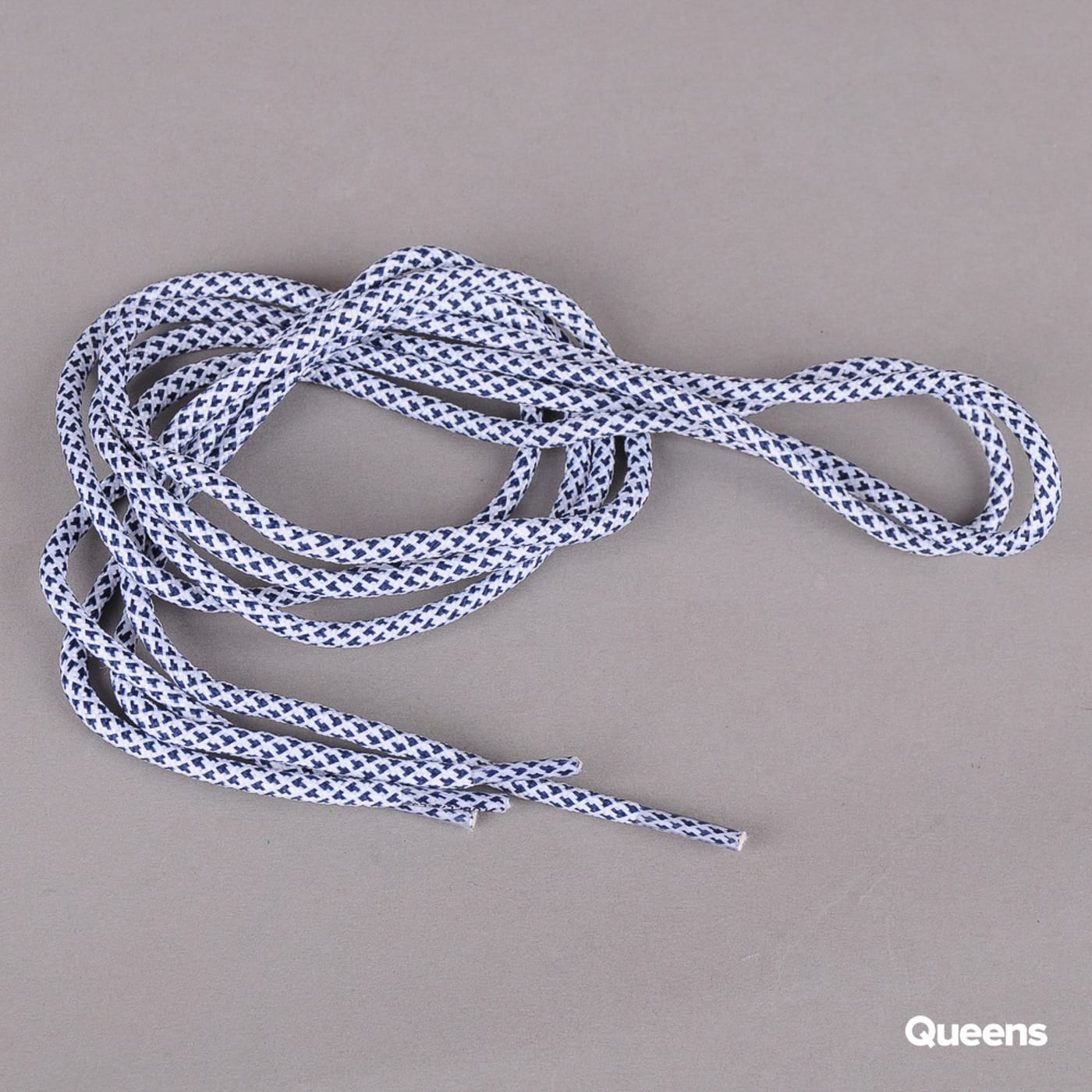 MD Tube Laces Rope Multi white / navy
