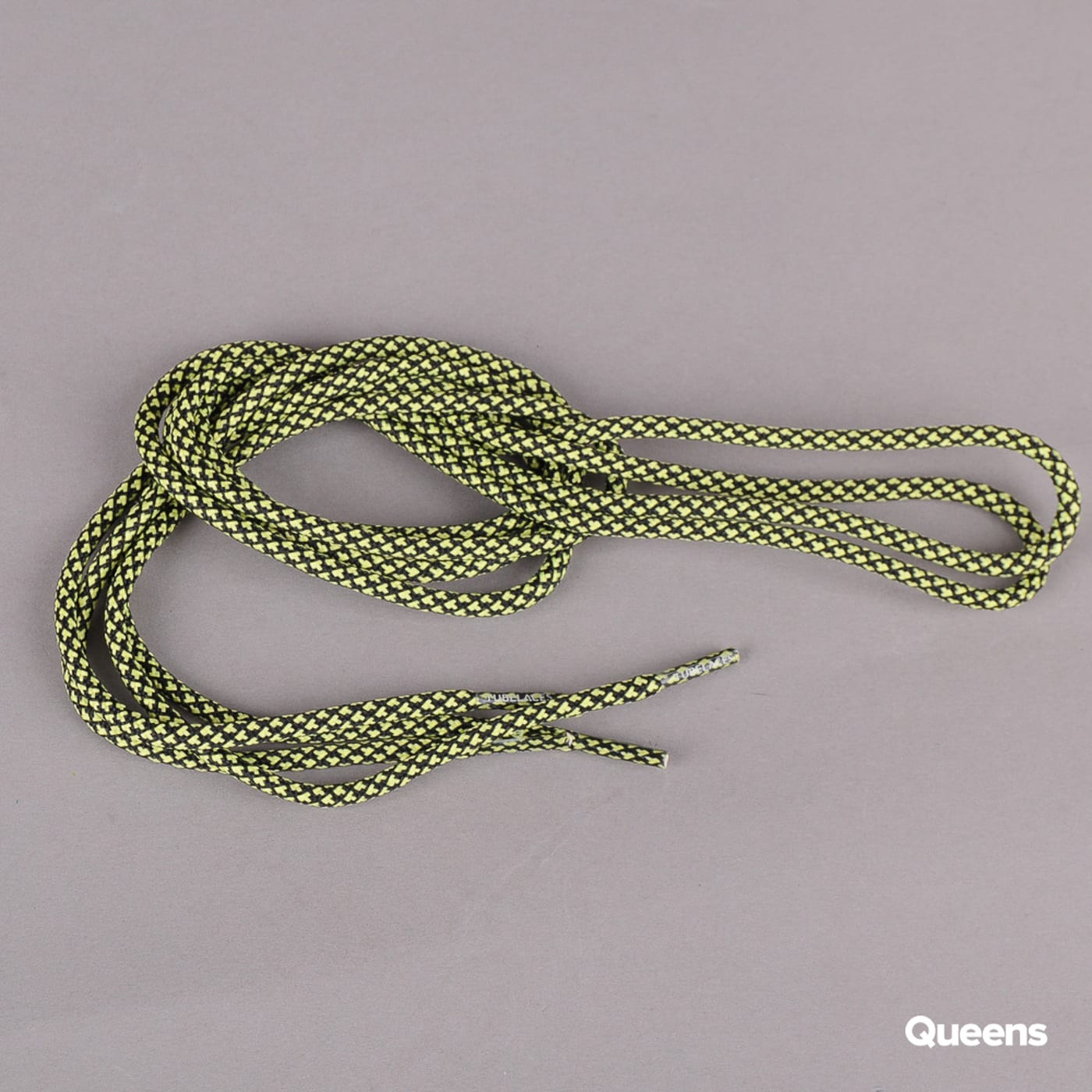 MD Tube Laces Rope Multi black / neon yellow