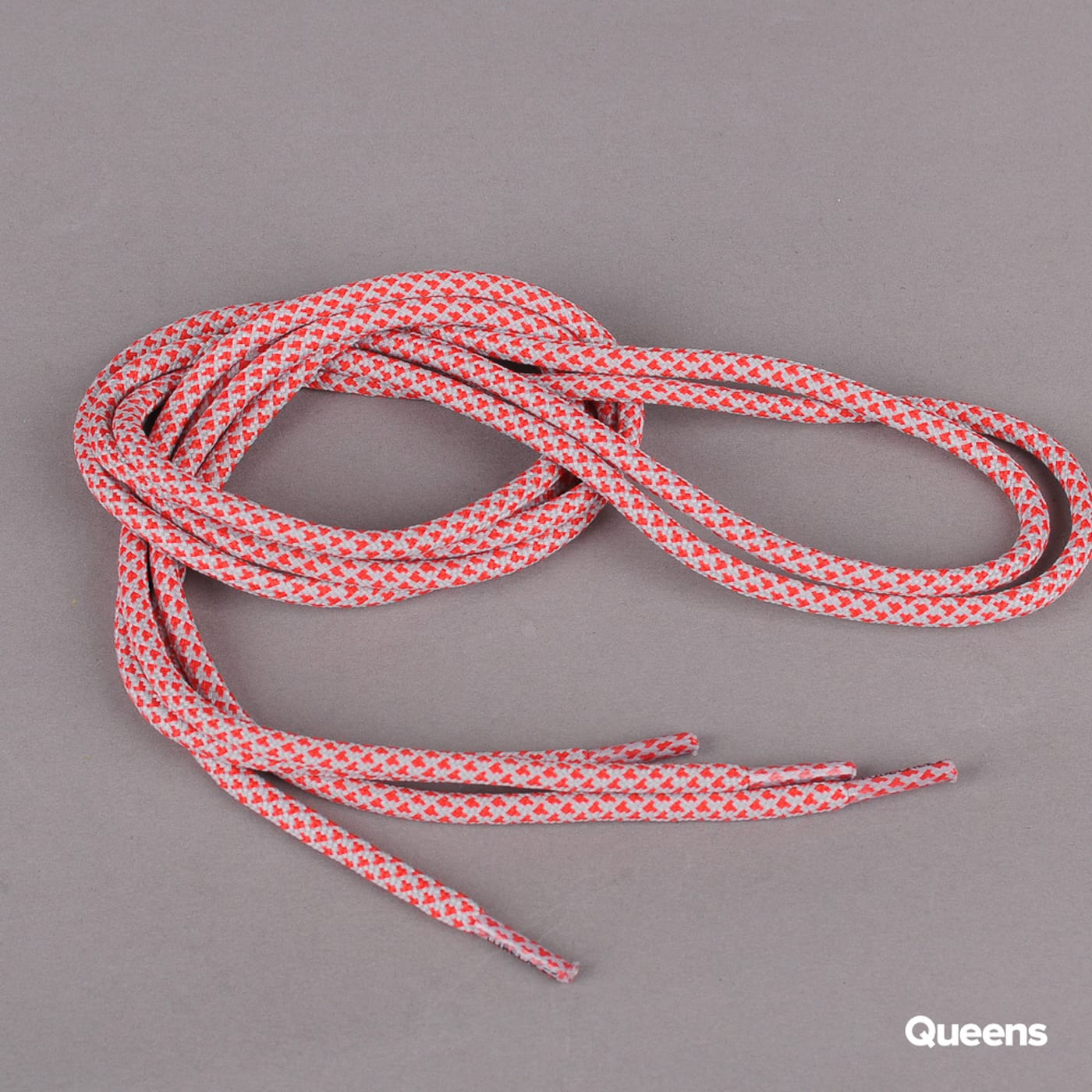 MD Tube Laces Rope Multi grau / rot