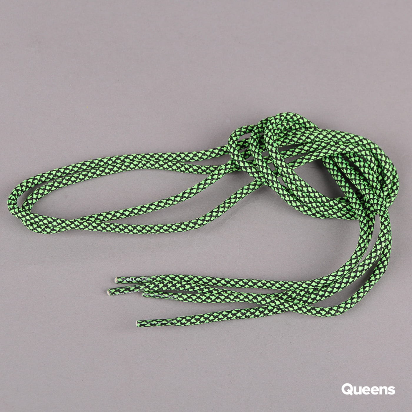 MD Tube Laces Rope Multi schwarz / neongrün