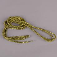 MD Tube Laces Rope Multi čierne / žlté