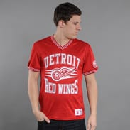 Mitchell & Ness #1 Spot Mesh Short Sleeve Detroit Red Wings
