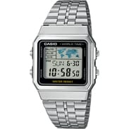 Casio A500WEA-1EF stříbrné