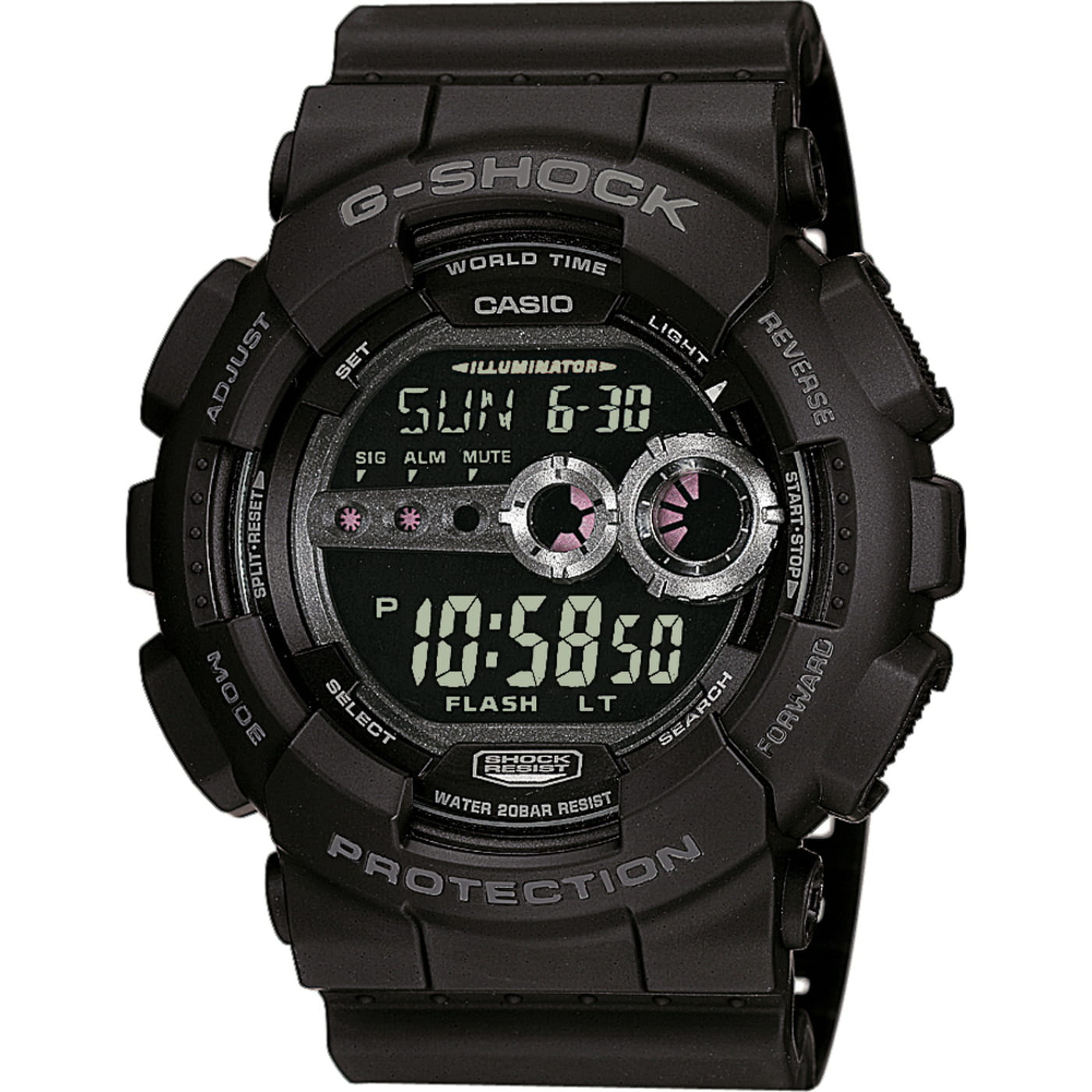 Casio G-Shock GD 100-1BER schwarz