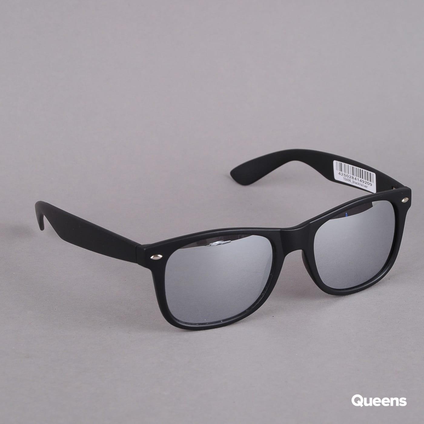 MD Sunglasses Likoma Mirror čierne / strieborné
