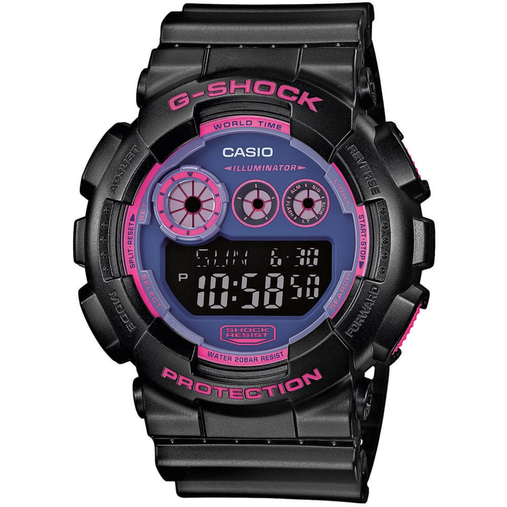 Casio G-Shock GD 120N-1B4ER black / purple