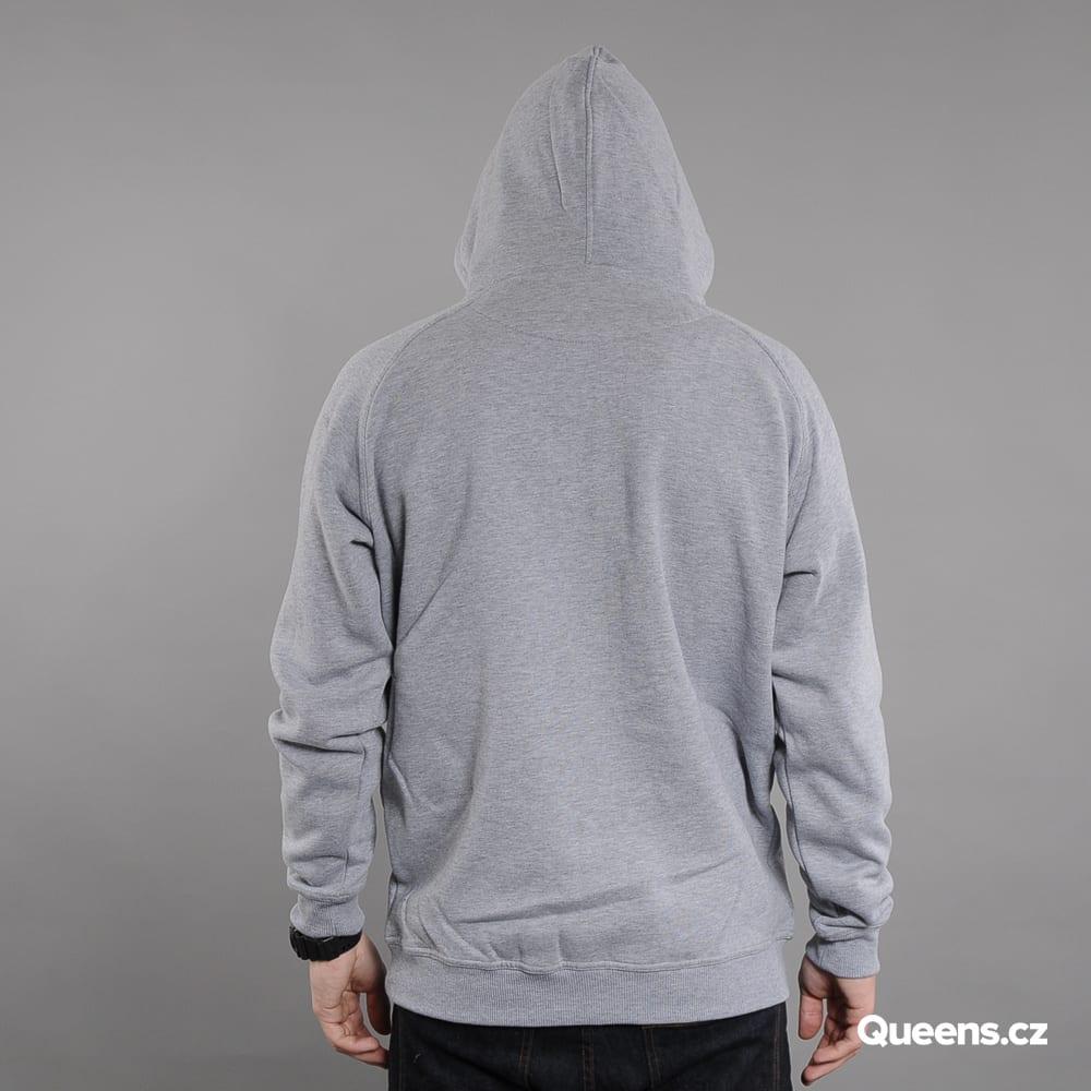 Urban Classics Tall Hoody grey melange