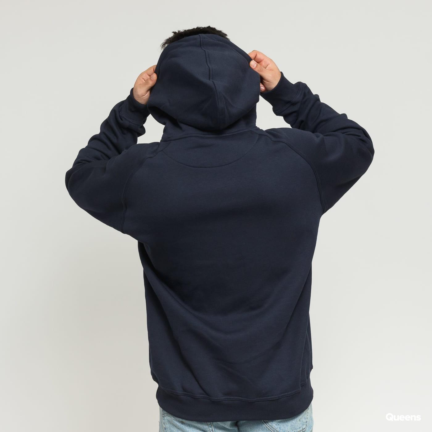 Urban Classics Blank Hoody navy