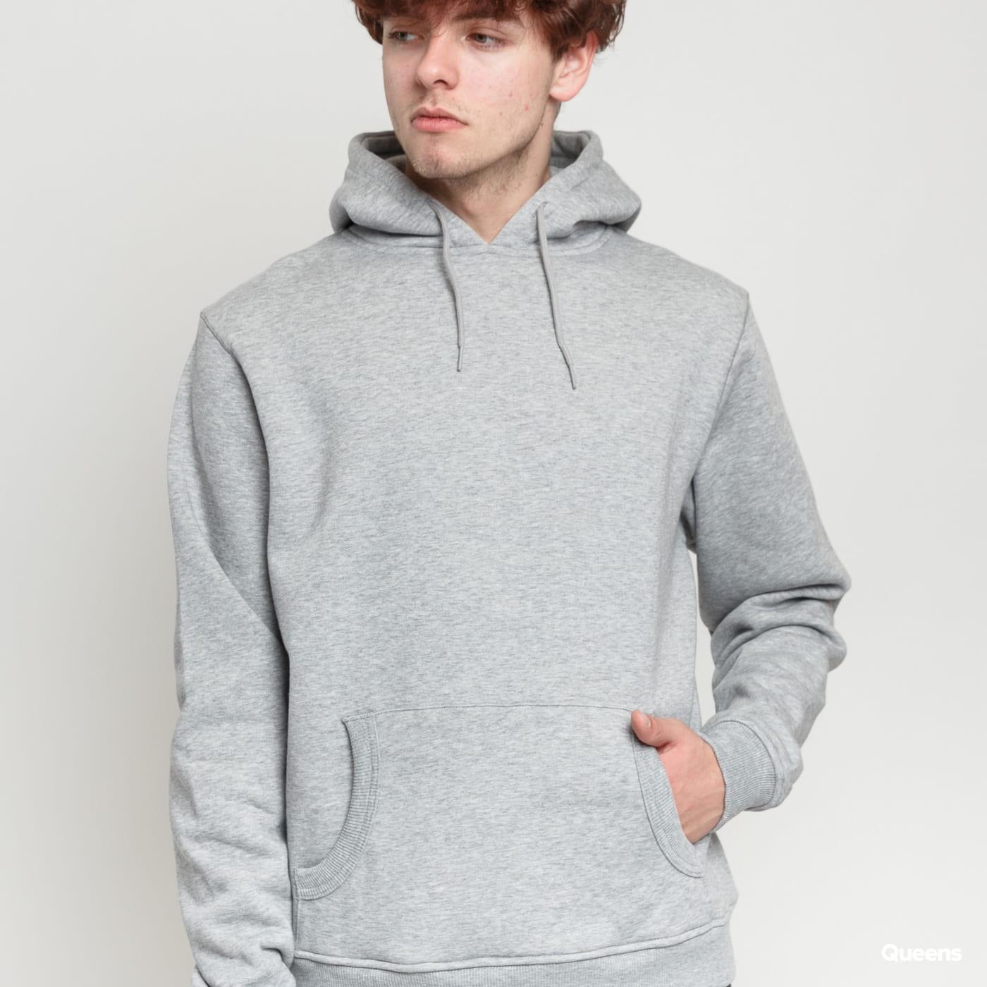 Urban Classics Relaxed Hoody grey melange