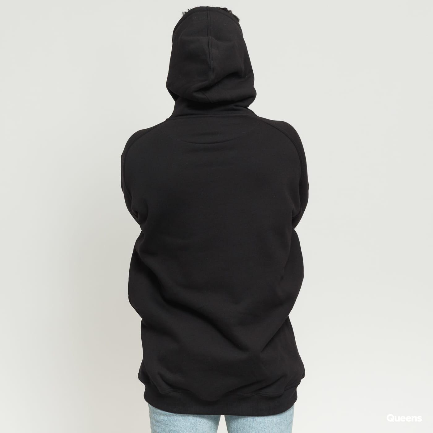 Urban Classics Tall Hoody čierna