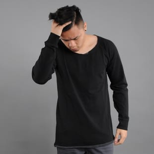 Urban Classics Long Open Edge Terry Crewneck