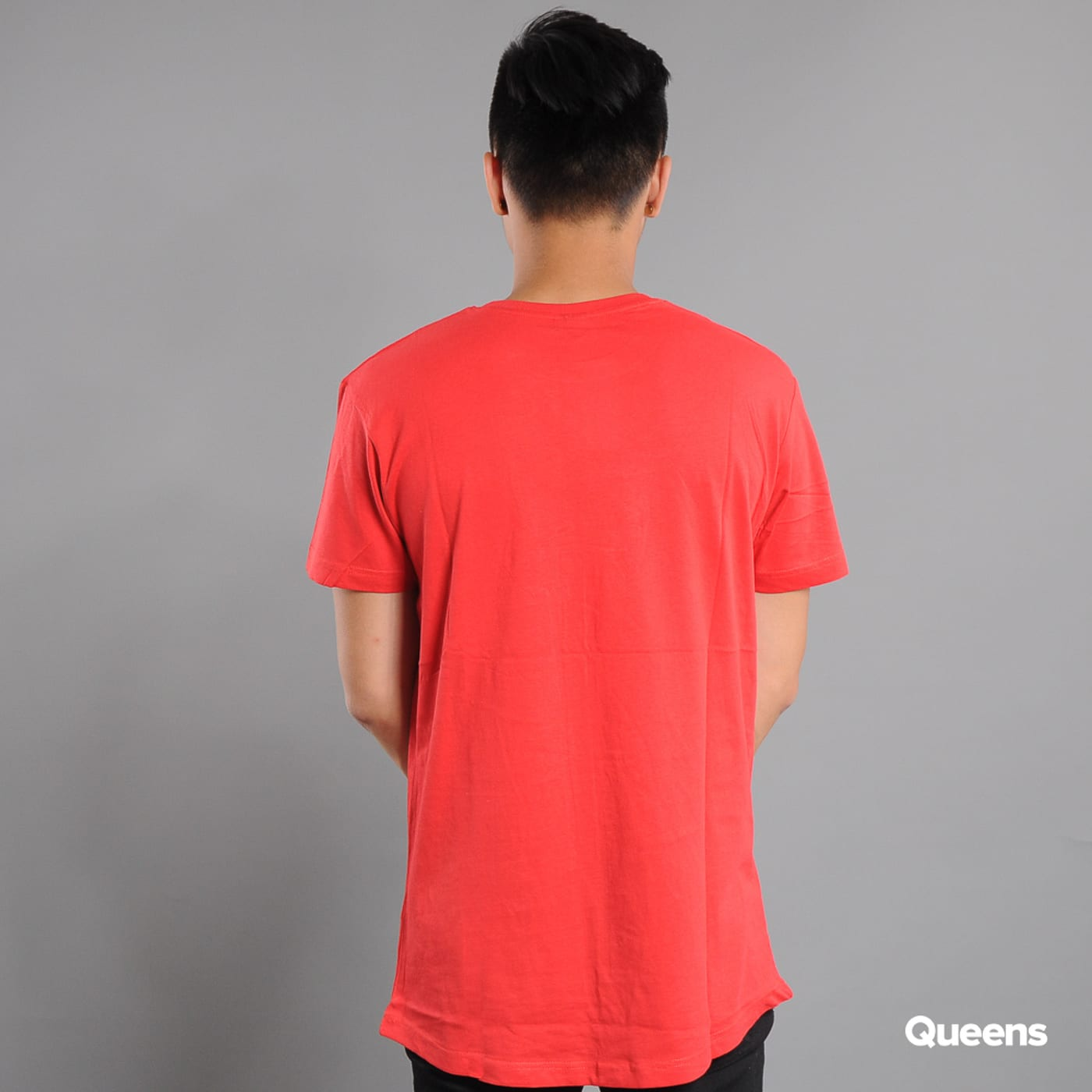 Urban Classics Shaped Long Tee rot