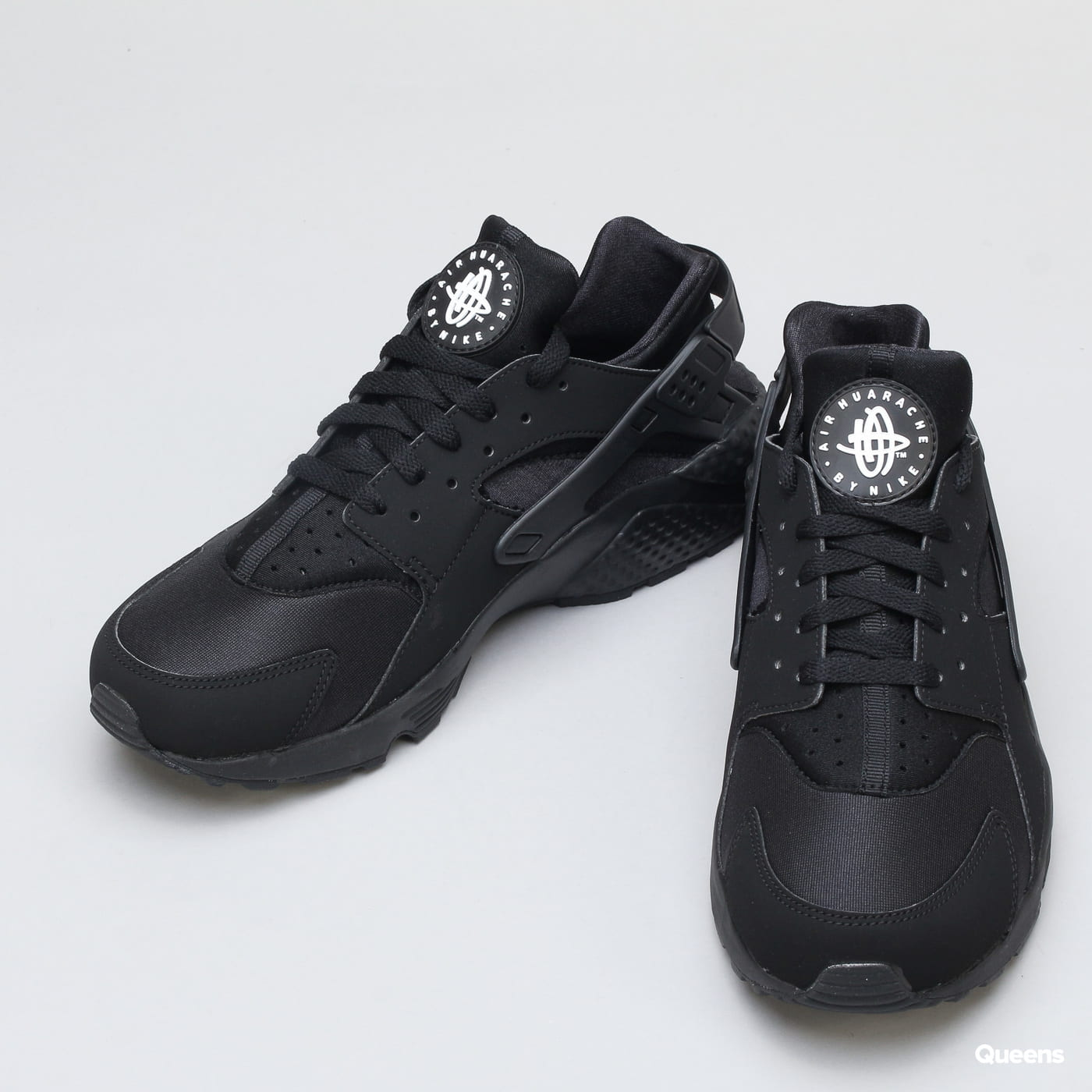 Nike Air Huarache black / black - white