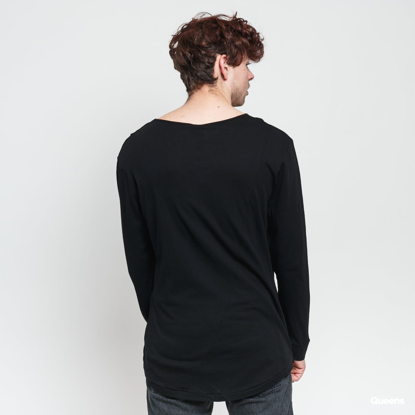 Urban Classics Long Shaped Fashion L/S black