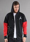 Jordan The Varsity Hoody // černá // červená