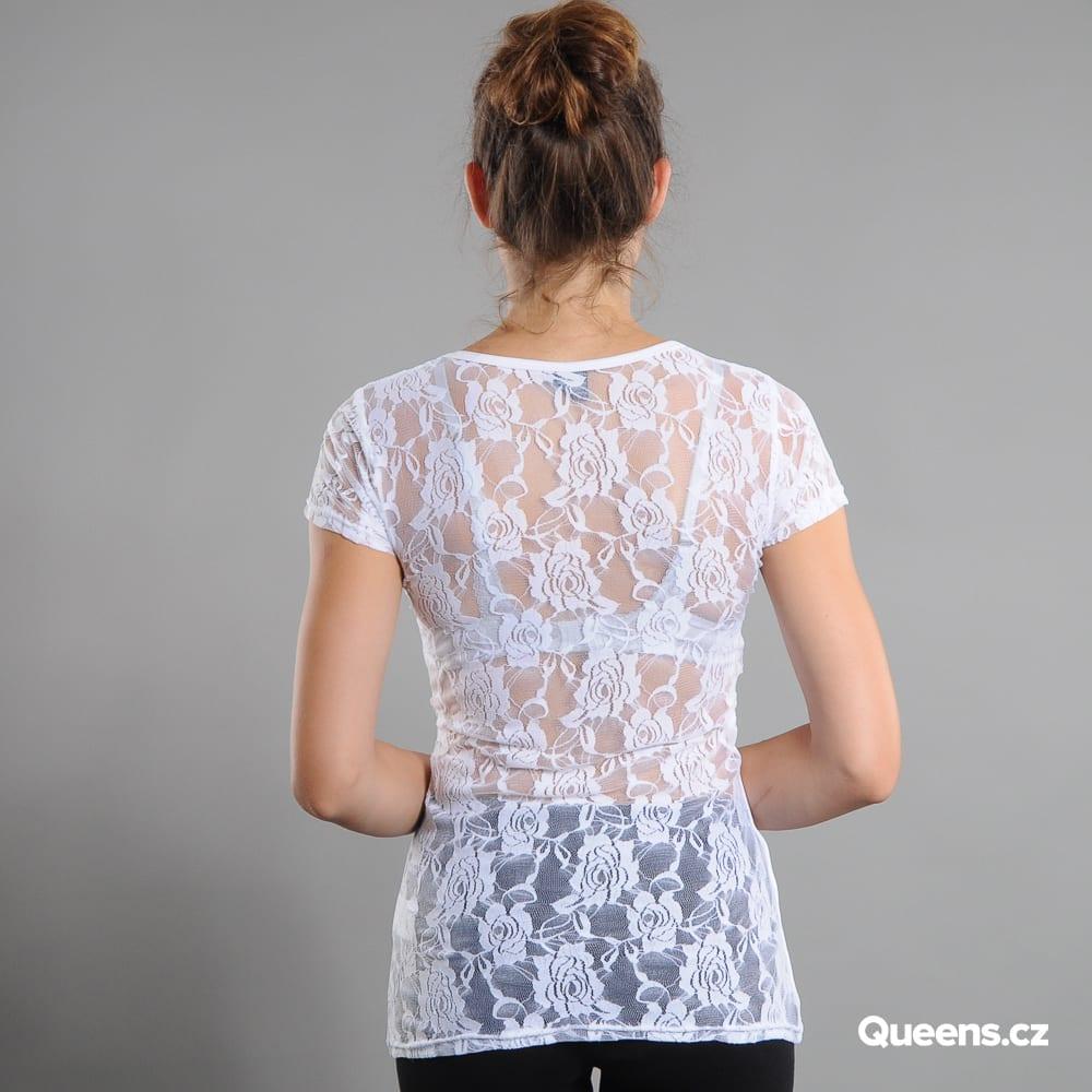 Urban Classics Ladies Back Laces white