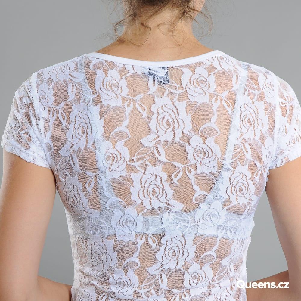 Urban Classics Ladies Back Laces biele
