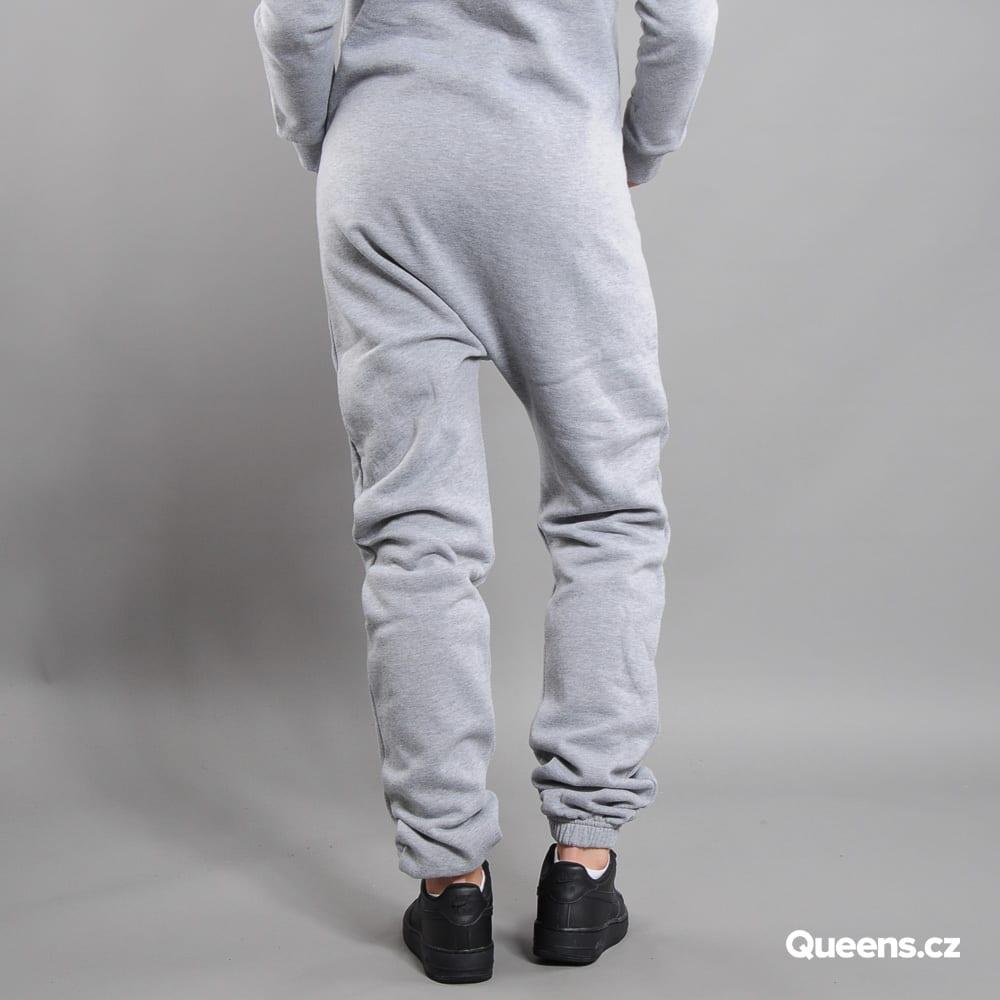 Urban Classics Ladies Sweat Jumpsuit melange gray