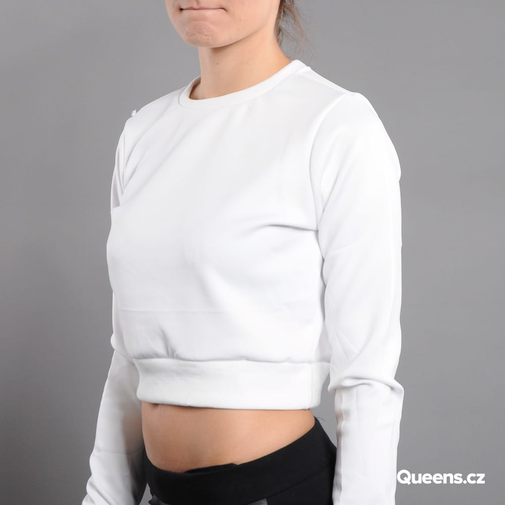 Urban Classics Ladies Scuba Cropped Crew cream