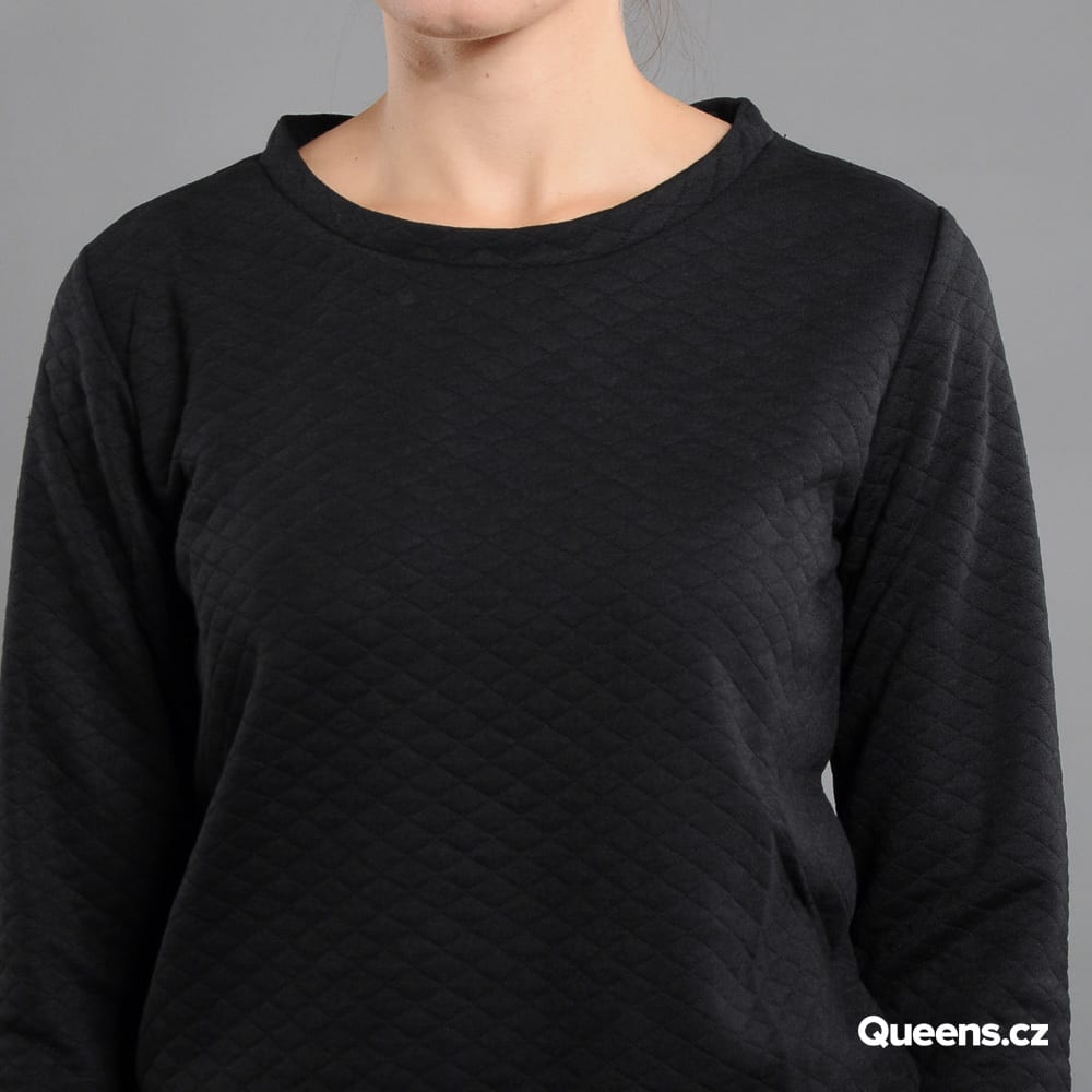 Urban Classics Ladies Quilt Crew black